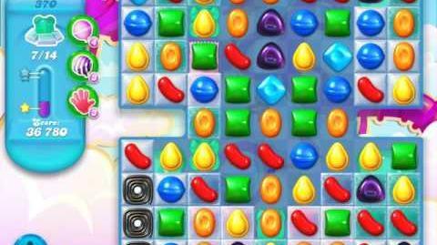 Candy Crush Soda Saga Level 370 (5th version, 3 Stars)
