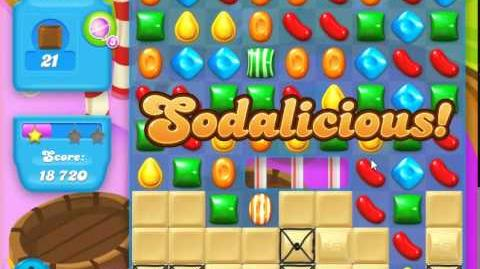 Candy Crush Soda Saga Level 135 (2nd buffed)