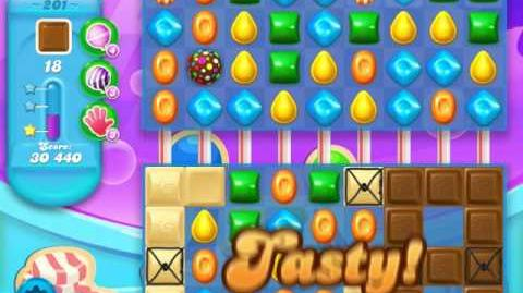Candy Crush Soda Saga Level 201 (buffed, 3 Stars)