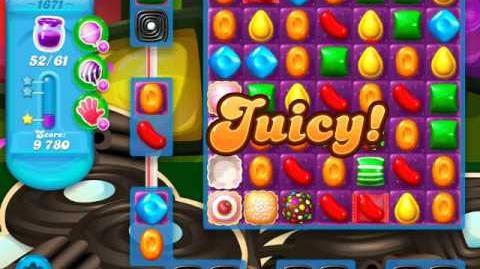 Candy Crush Soda Saga Level 1671