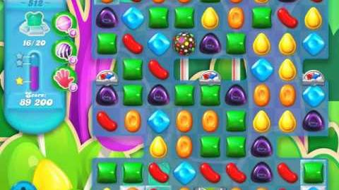 Candy Crush Soda Saga Level 512 (2nd nerfed, 3 Stars)