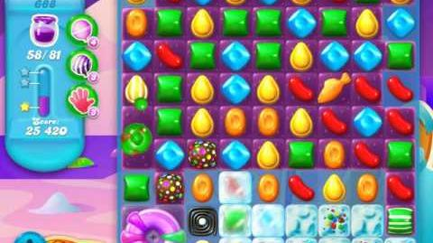 Candy Crush Soda Saga Level 688 (buffed, 3 Stars)