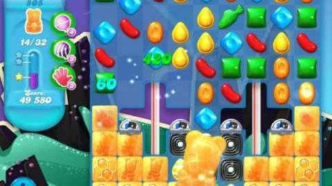 Candy Crush Soda Saga Level 805 (6th version)