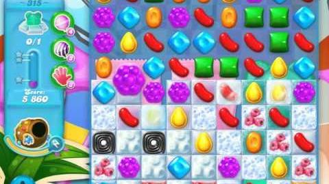 Candy Crush Soda Saga Level 315 (5th version, 3 Stars)