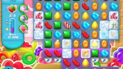 Candy Crush Soda Saga Level 728 (buffed)