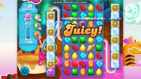 CANDY CRUSH SODA Saga Level 1876-1877 ★★★