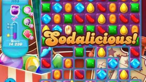 Candy Crush Soda Saga Level 1155 (2nd nerfed, 3 Stars)