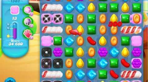 Candy Crush Soda Saga Level 1302 (2nd nerfed, 3 Stars)