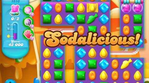 Candy Crush Soda Saga Level 1516 (buffed)