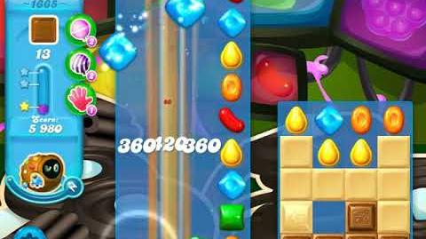 Candy Crush Soda Saga Level 1665