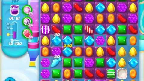 Candy Crush Soda Saga Level 297 (8th version, 3 Stars)