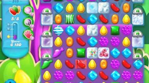 Candy Crush Soda Saga Level 515 (3rd version, 3 Stars)