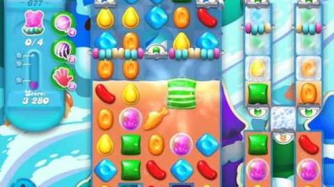 Candy Crush Soda Saga Level 677 (3 Stars)