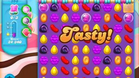 Candy Crush Soda Saga Level 390 (4th version)