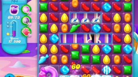 Candy Crush Soda Saga Level 704 (4th version, 3 Stars)
