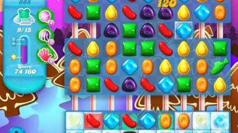 Candy Crush Soda Saga Level 665 (5th version, 3 Stars)