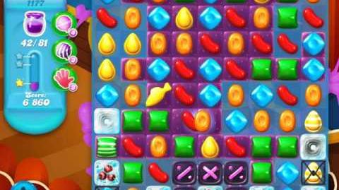 Candy Crush Soda Saga Level 1177 (nerfed)