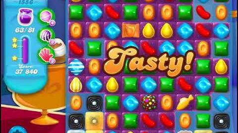 Candy Crush Soda Saga Level 1556 (4th version, 3 Stars)