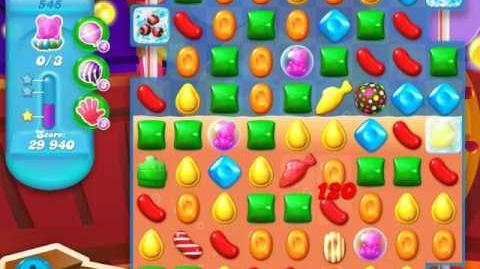 Candy Crush Soda Saga Level 545 (9th version, 3 Stars)