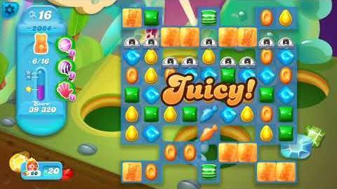 Candy Crush Soda Saga Level 2084