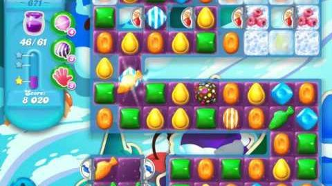 Candy Crush Soda Saga Level 671 (buffed, 3 Stars)