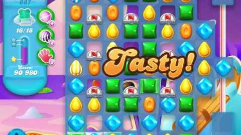 Candy Crush Soda Saga Level 687 (3 Stars)