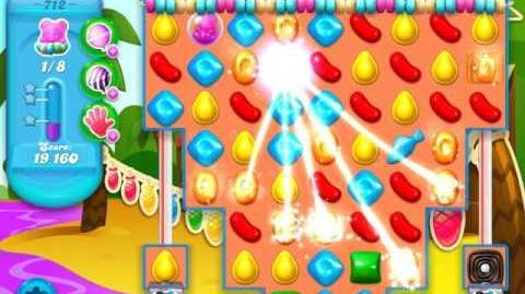 Candy Crush Soda Saga Level 712 (buffed)