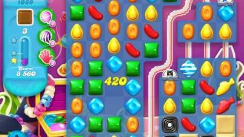 Candy Crush Soda Saga Level 1069 (nerfed)