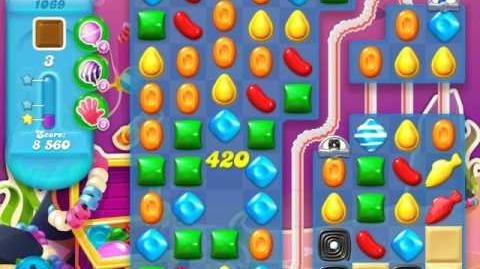 Candy Crush Soda Saga Level 1069 (nerfed)