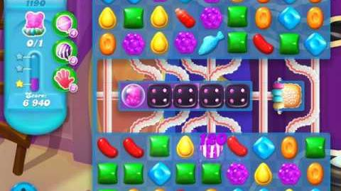 Candy Crush Soda Saga Level 1190 (4th version)