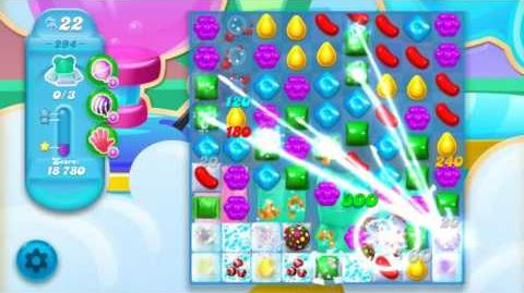 Candy Crush Soda Saga Level 294 (5th version, 3 Stars)