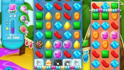 Candy Crush Soda Saga Level 712 (2nd buffed)