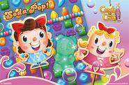 Candy crush soda saga character poster print