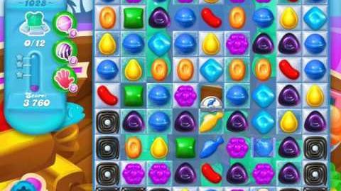 Candy Crush Soda Saga Level 1028 (buffed)