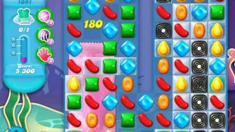 Candy Crush Soda Saga Level 1091 (nerfed, 3 Stars)