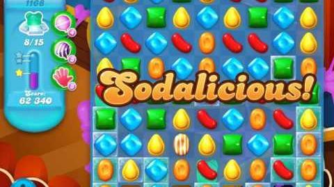 Candy Crush Soda Saga Level 1168 (nerfed)