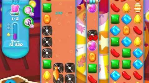 Candy Crush Soda Saga Level 543 (3 Stars)