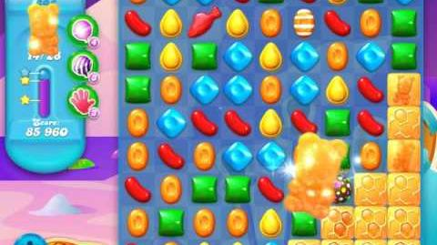 Candy Crush Soda Saga Level 695 (6th version, 3 Stars)