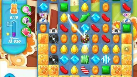 Candy Crush Soda Saga Level 917 (2nd buffed)