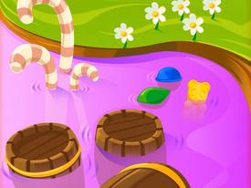 Candycane Isle background