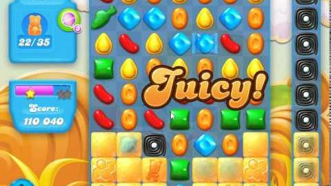 Candy Crush Soda Saga Level 155(Coloring candy, 3 Stars)