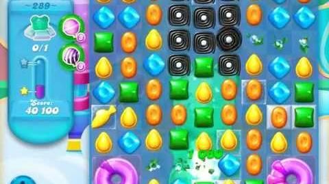 Candy Crush Soda Saga Level 289 (2nd version, 3 Stars)