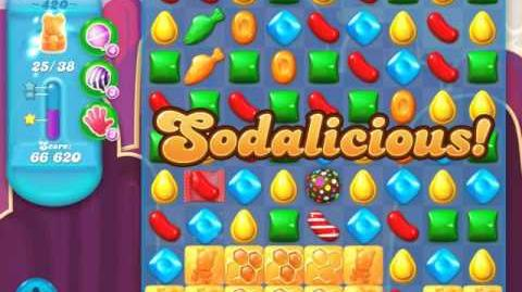 Candy Crush Soda Saga Level 420 (5th version, 3 Stars)