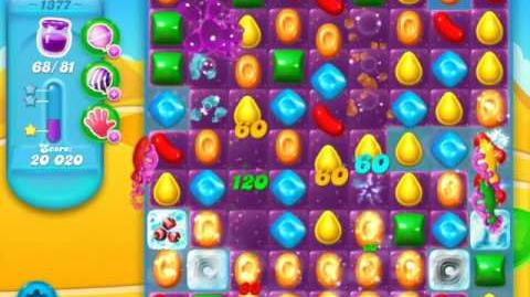 Candy Crush Soda Saga Level 1377 (3 Stars)
