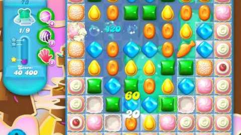 Candy Crush Soda Saga Level 73 (5th version, 3 Stars)