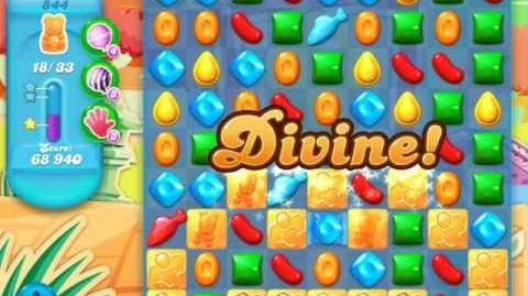 Candy Crush Soda Saga Level 844 (2nd nerfed, 3 Stars)