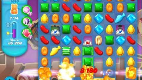 Candy Crush Soda Saga Level 1010 (5th version, 3 Stars)
