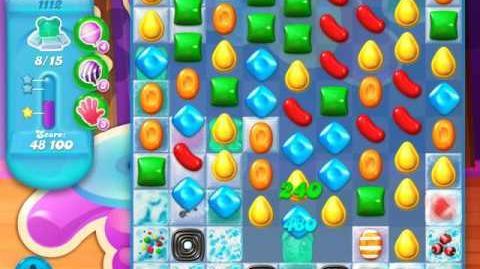 Candy Crush Soda Saga Level 1112 (4th version, 3 Stars)