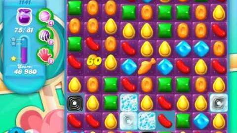 Candy Crush Soda Saga Level 1141 (3 Stars)