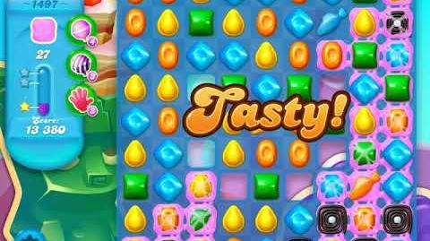 Candy Crush Soda Saga Level 1497 (buffed, 3 Stars)